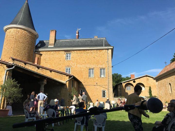 Au Château de Janzé !