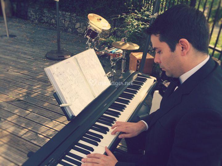 Pianiste mariage C & J