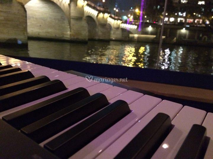 Mariage sur l'eau Paris