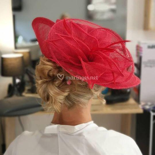 Chignon à chapeau