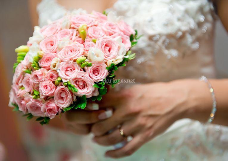 Bouquet petites roses