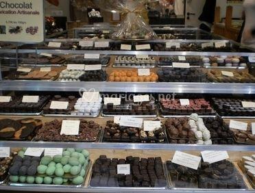 Variété de chocolats