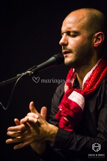 Chanteur flamenco