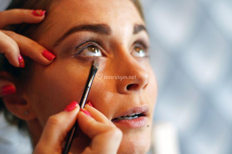 Préparatifs - maquillage