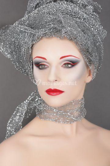 Maquillage très sophistiqué
