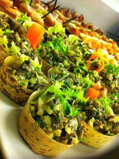 Cassolette escargots