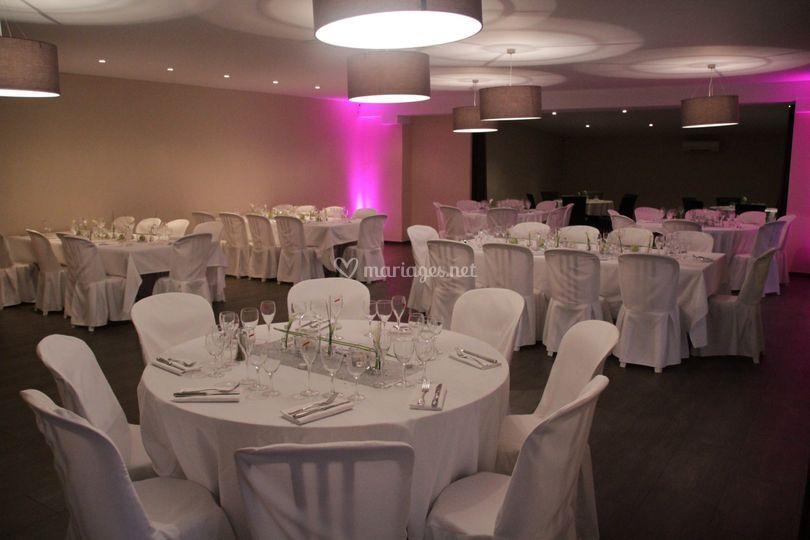 Grande salle de mariage