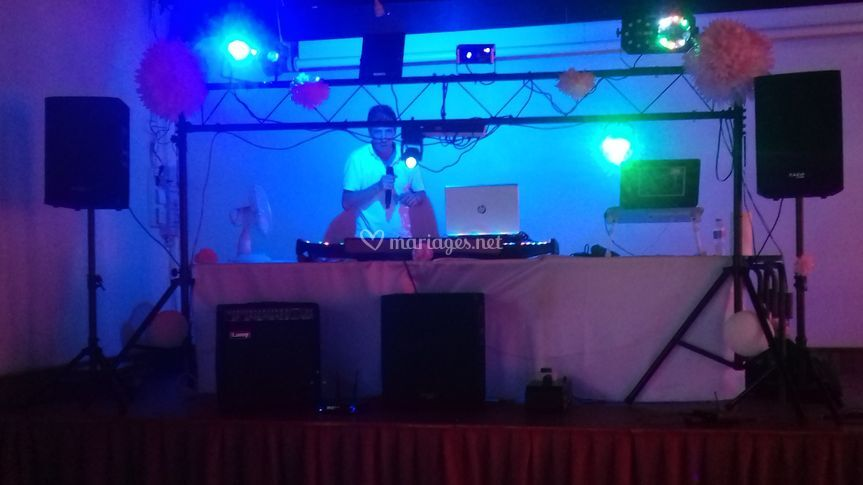 Le Ch'ti DJ Lyon en action