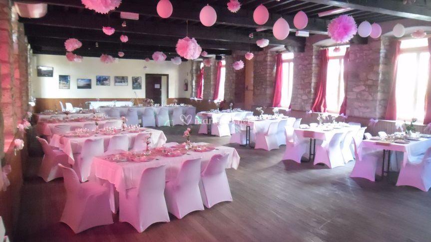 Salle de mariage à Saint-Julien