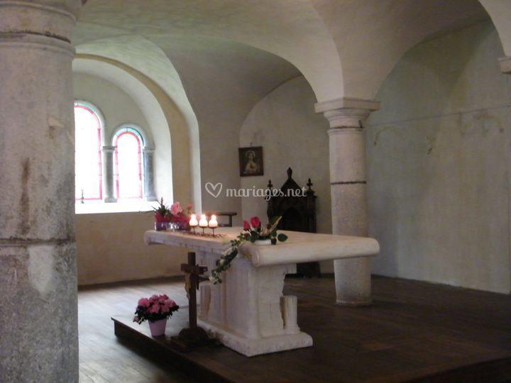 La chapelle détail