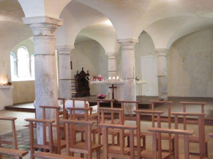 La chapelle vue d'ensemble