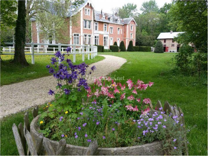 Un aperçu du parc du château