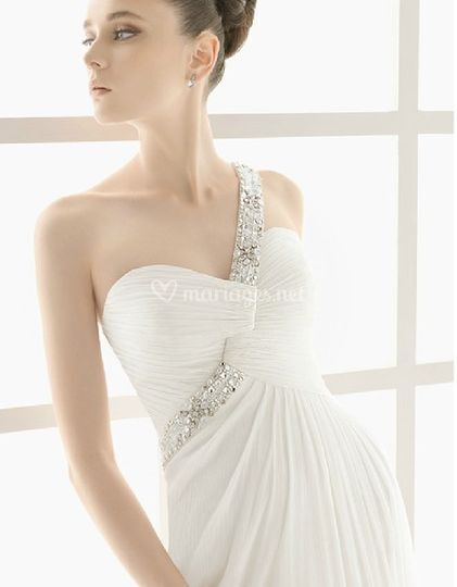 Robe de mariée A-line