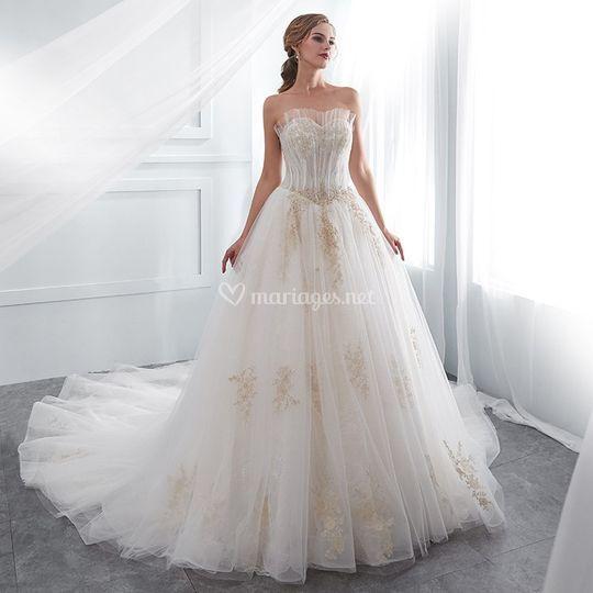 Robe de mariée personnalisable