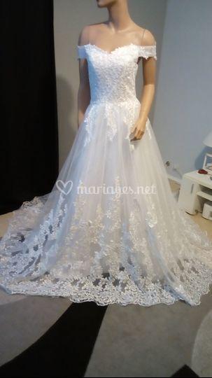 Création robe princesse
