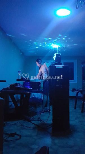 Entrainement du DJ