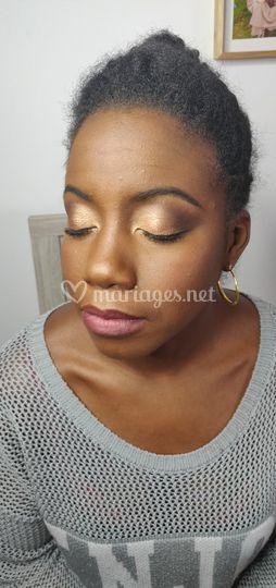 Essai maquillage pour mariage