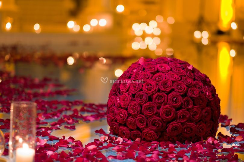 Boule de roses