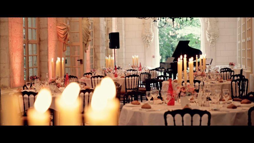 Réception au Château