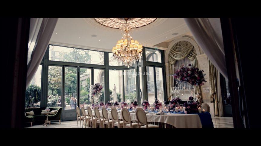 Réception au Ritz Paris
