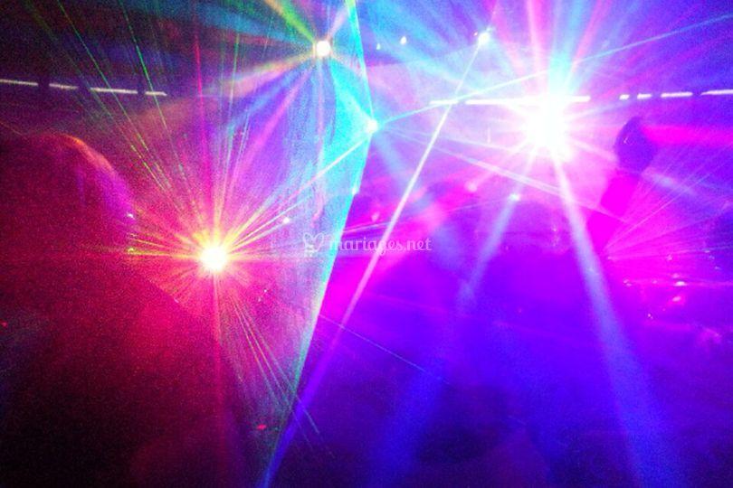 Jeux de lumière, éclairage