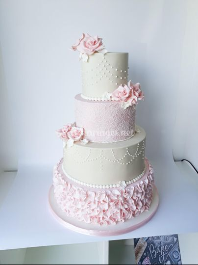 Wedding cake Shabby chic