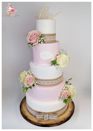Wedding cake Champêtre