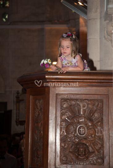 Pendant la cérémonie