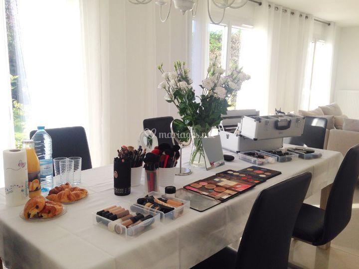 Atelier maquillage en privé