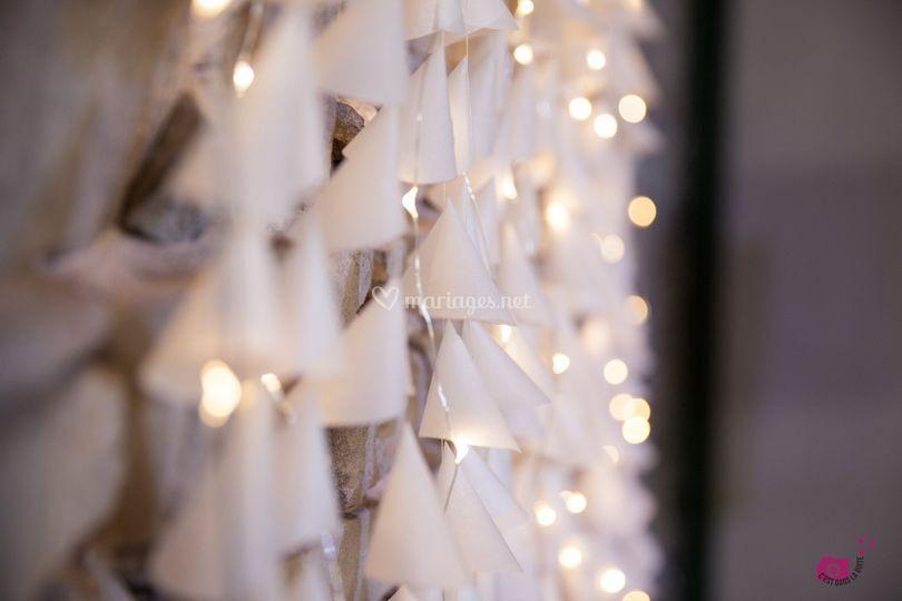 Mur lumineux pour photo