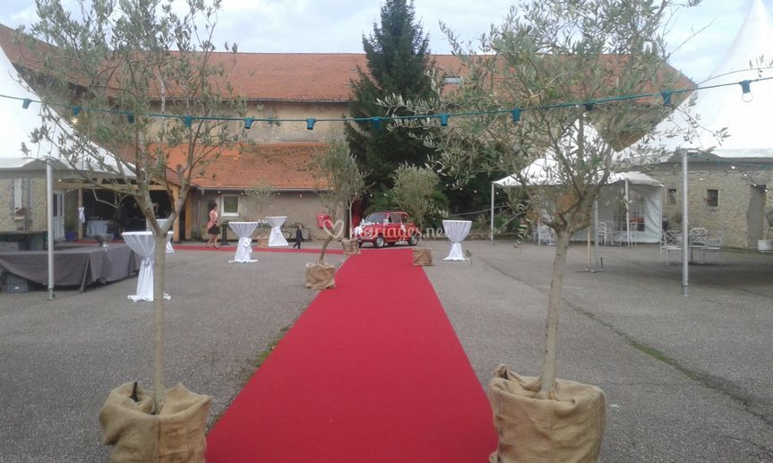 Cour intérieur vin d'honneur