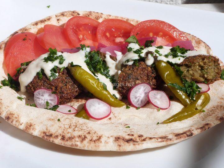 Veggie falafel original