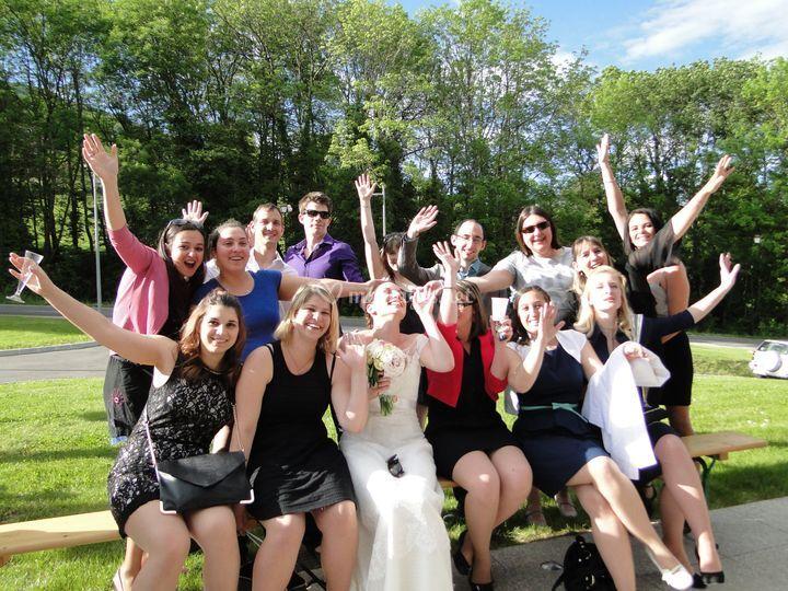 La Mariée et ses Amis !