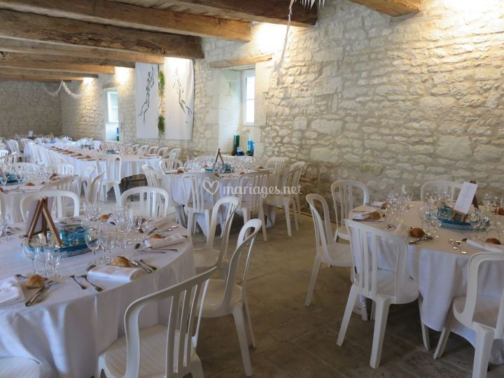 Mariage tables rondes