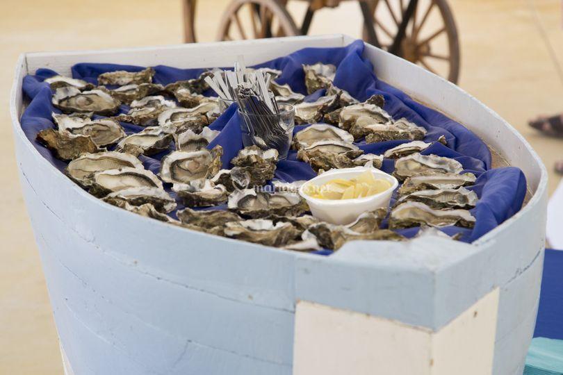 Bateau d'huîtres