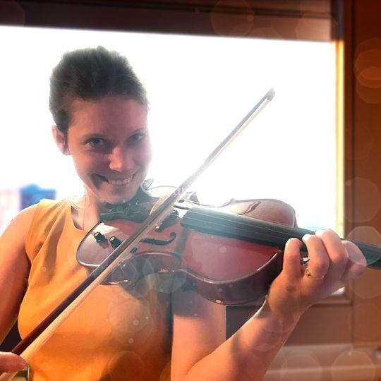 Vic au violon