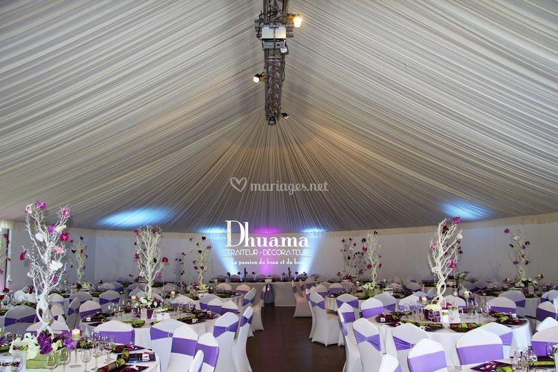 Décoration violet par Dhuama