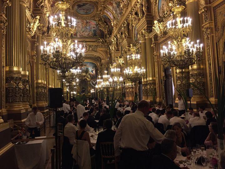 Mariage au Palais Garnier