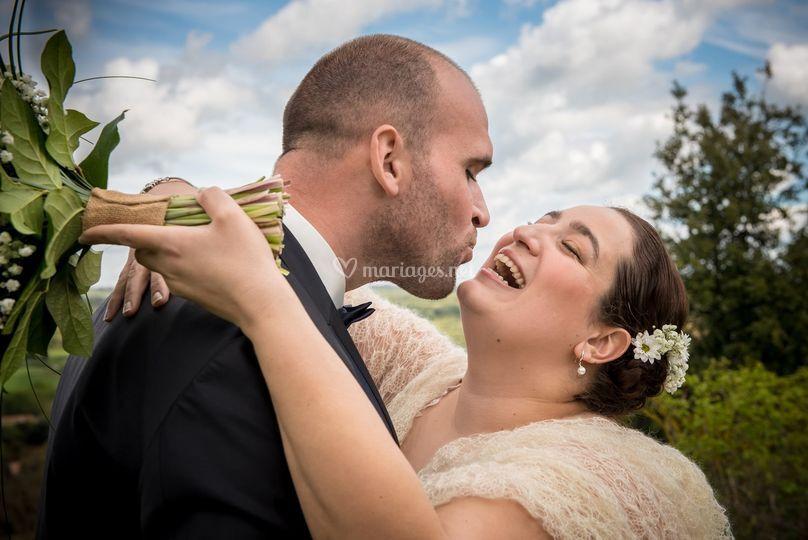 Les mariés de Cennes-Monestier