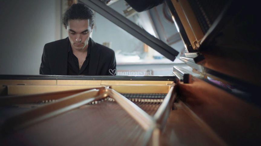 Orphée - pianiste mariage