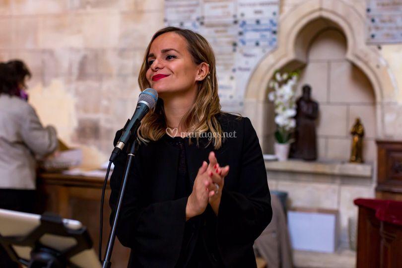 Orphée - chanteuse messe