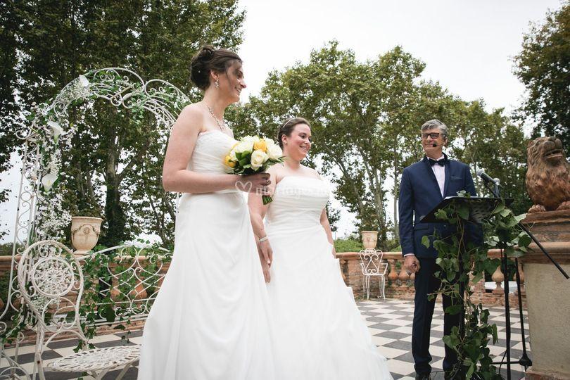 Mariage de deux Fées