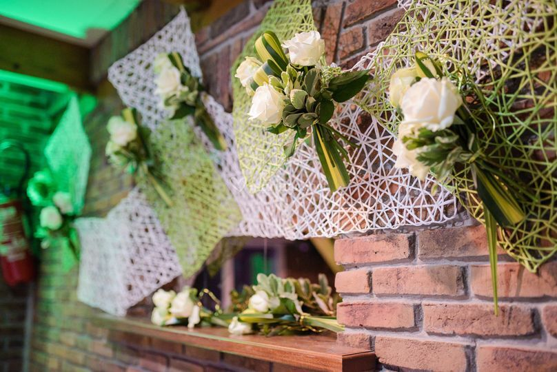 Bouquets suspendus