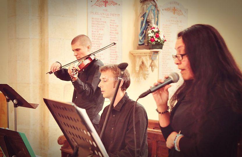 Trio classique Bretagne