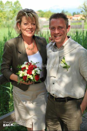 Exemple de photo de mariage