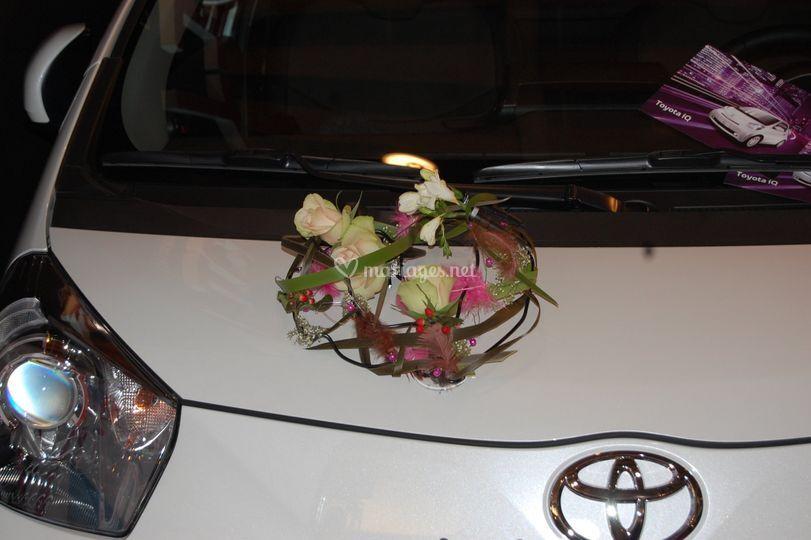 Composition capot voiture