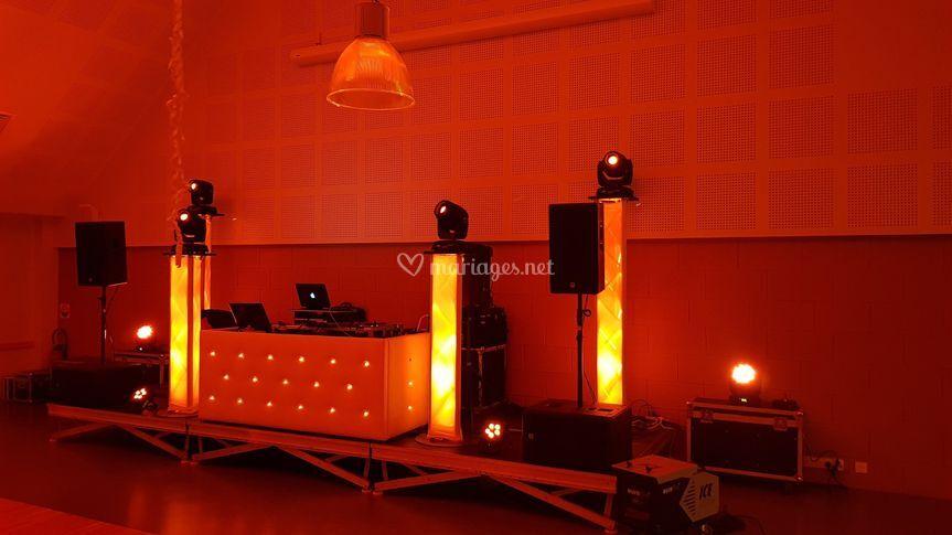 Installation DJ prestige
