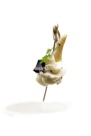 Artichaut mascarpone et truffe