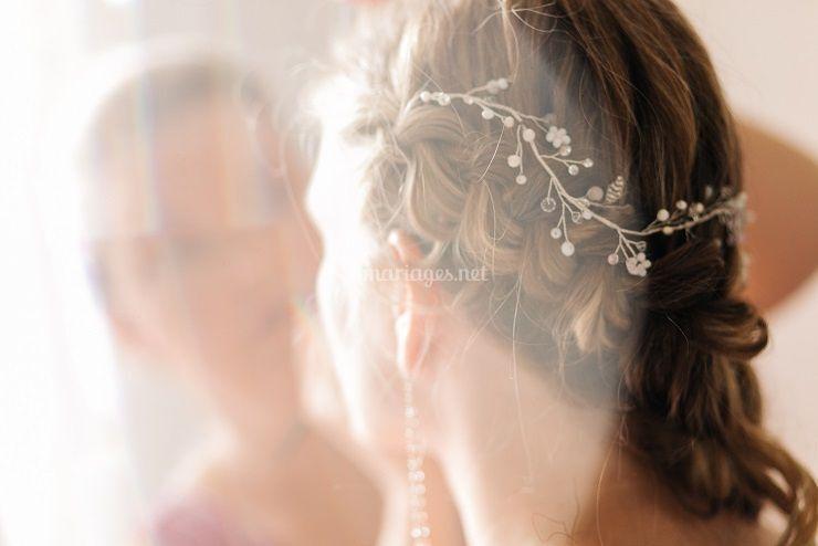 Bijoux de tête en couronne