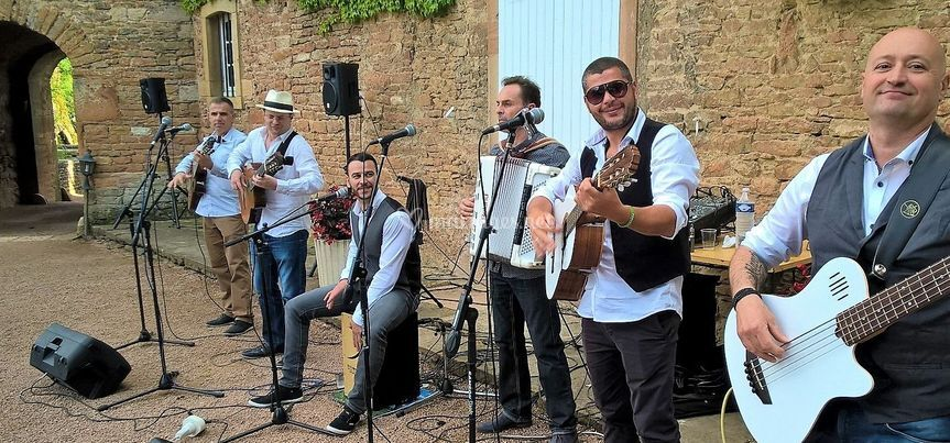 Groupe musical cocktail